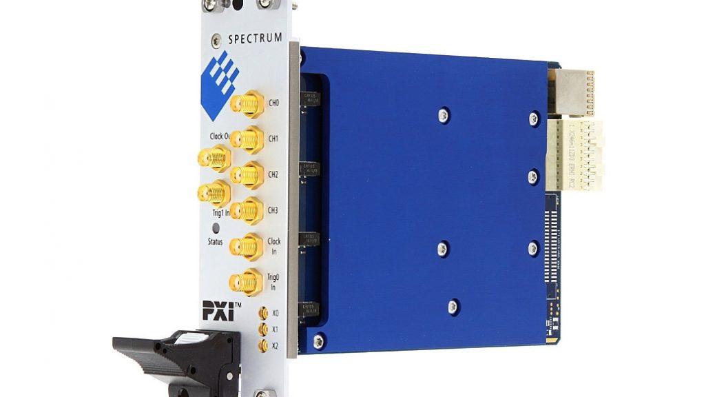 Spectrum M4x AWG PXIe modules