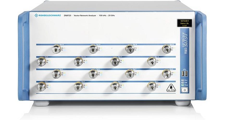 Rohde&Schwarz R&SZNBT20 Multiport Vector Network Analyzer