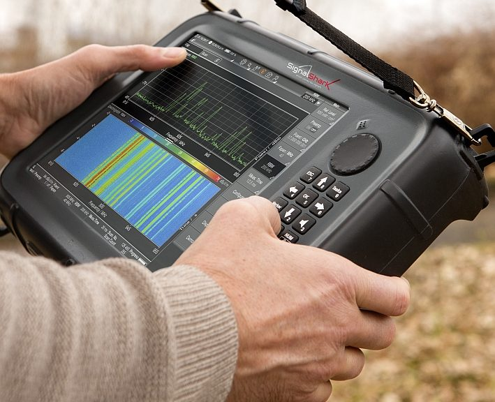 Narda's SignalShark portable spectrum analyzer