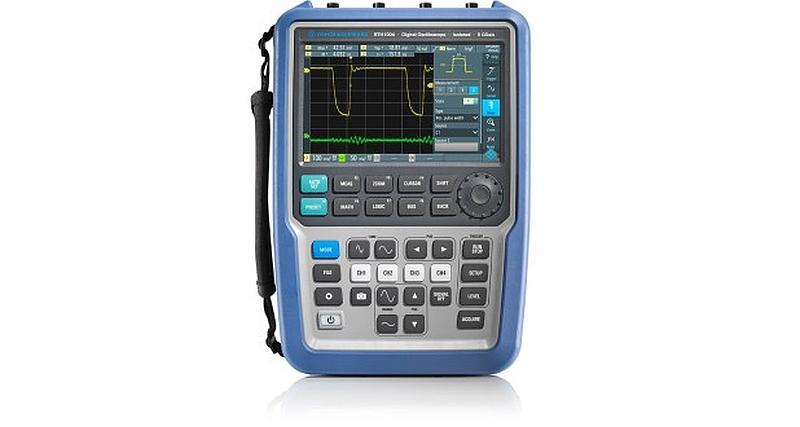 Rohde & Schwarz's Scope Rider handheld oscilloscope now integrates eight instruments