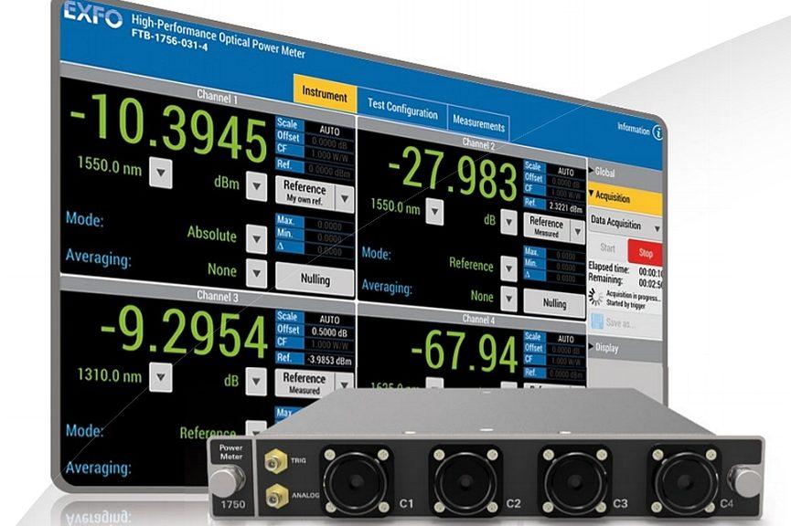 Exfo FTBx-1750 optical power meter