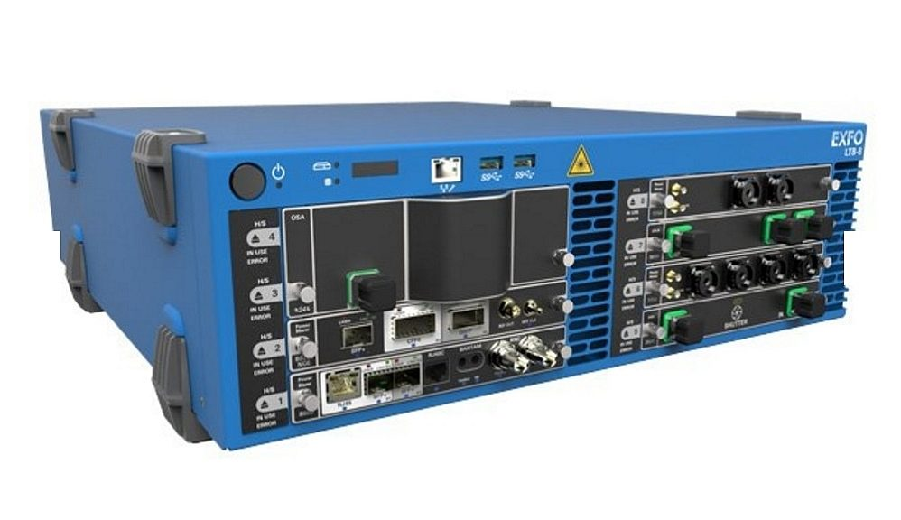 Exfo FTBx-5245 Series of optical spectrum analyzers (OSA)