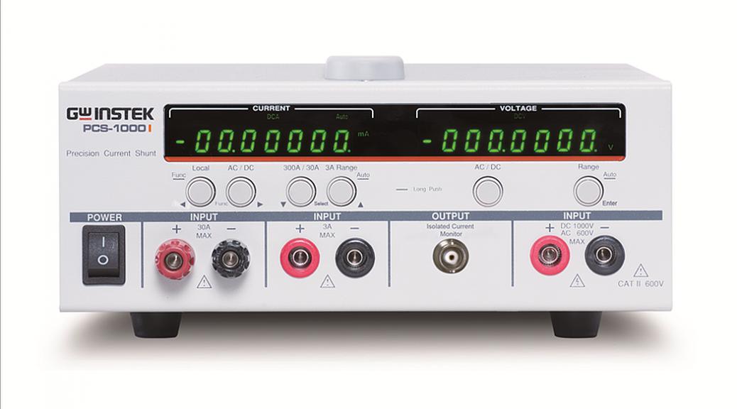 GW Instek's PCS-1000I AC and DC precision shunt meter