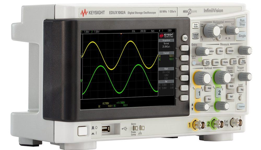 Keysight Technologies InfiniiVision 1000 X-Series Oscilloscopes