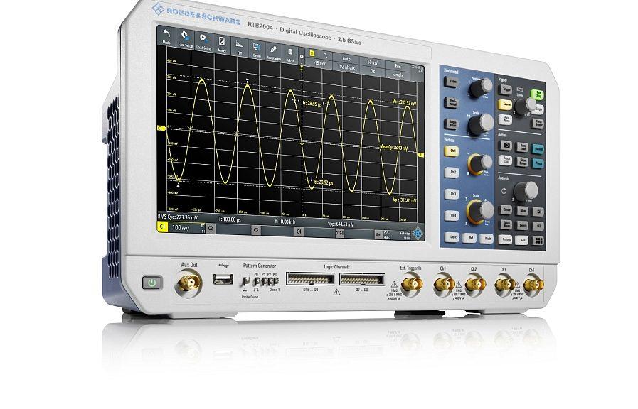 Rohde & Schwarz R&S RTB2000 oscilloscope