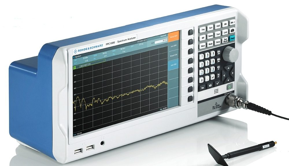 Rohde & Schwarz R&S FPC1000 spectrum analyzer