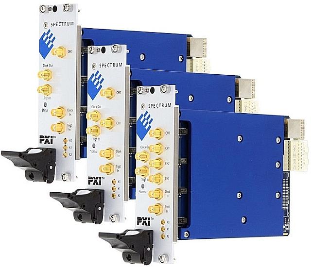 Spectrum PXIe M4x.22xx series digitizers