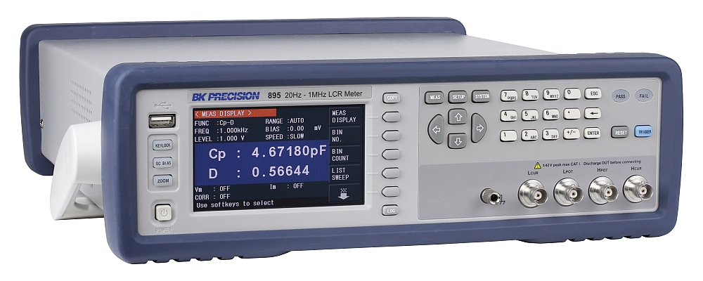 Bk Lcr Meter : B k precision extends the frequency range of its bench lcr