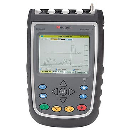 Megger MPQ1000 handheld 3-phase power quality analyzer