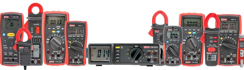 RS Pro Test and Measurement instruments