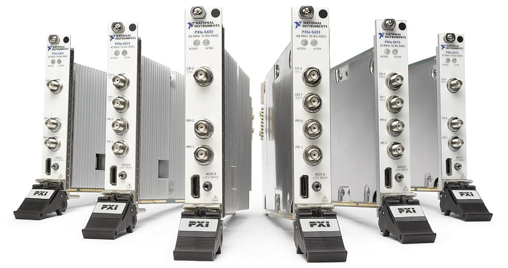 NI PXIe-54x3 arbitrary waveform generators of National Instruments