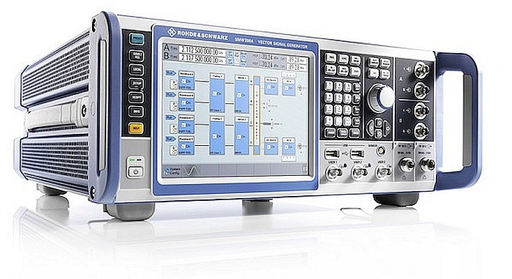 R&S SMW200A vector signal generator from Rohde & Schwarz