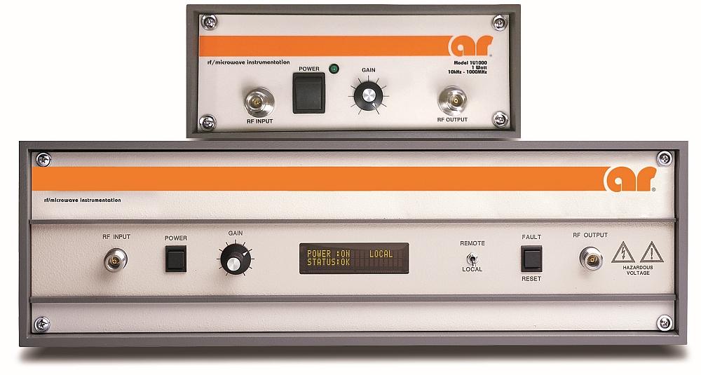 AR RF Microwave Instrumentation U series amplifiers