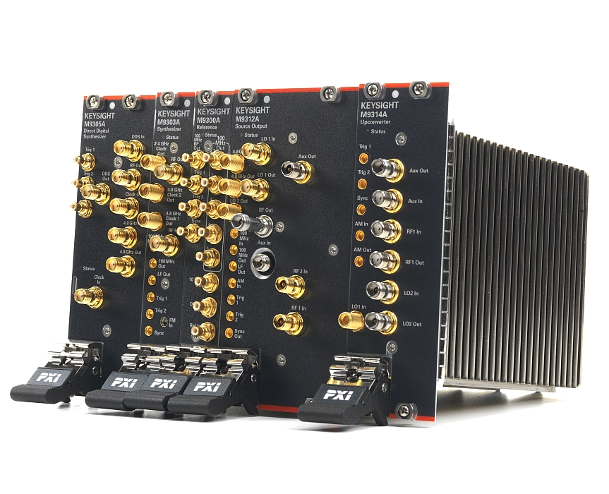 Keysight PXIe solution for signal generation up to 44 GHz