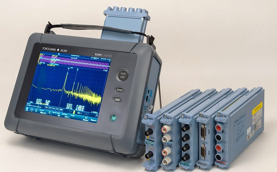 The Yokogawa DL350 ScopeCorder is a portable measuring instrument for capturing, displaying, recording and analyzing a variety of electrical and physical parameters