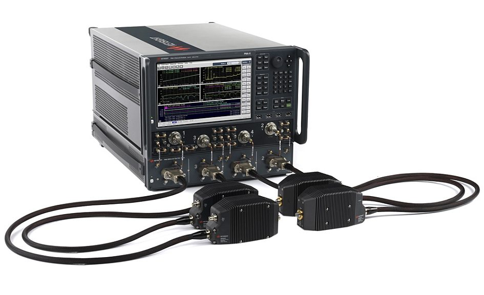 Keysight Technologies's broadband millimeter-wave network analyzer solution