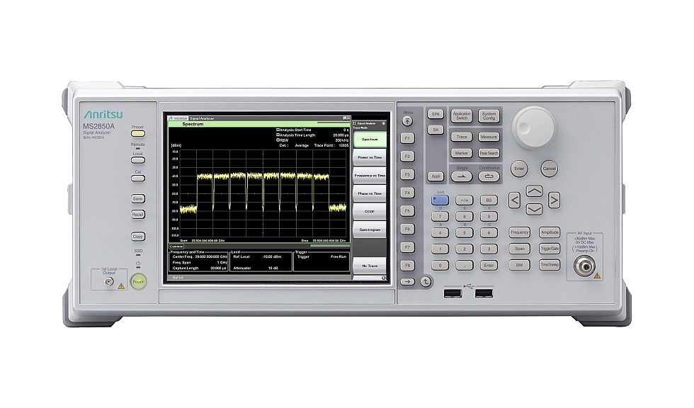 Anritsu's MS2850A signal analyzer for 5G