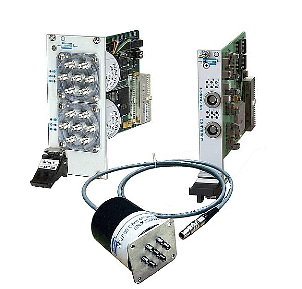 Pickering Interfaces's 40-785B PXI microwave multiplexers
