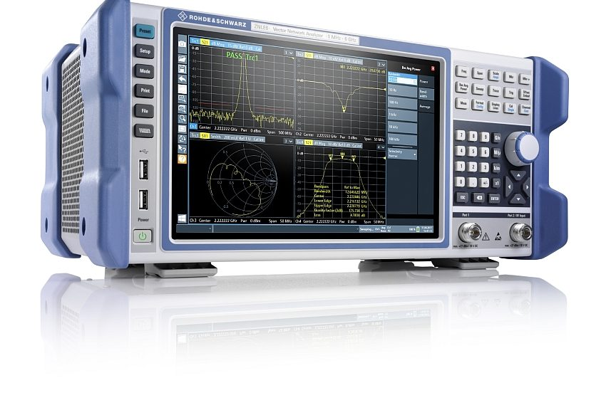Rohde & Schwarz's R & S ZNLE vector network analyzer