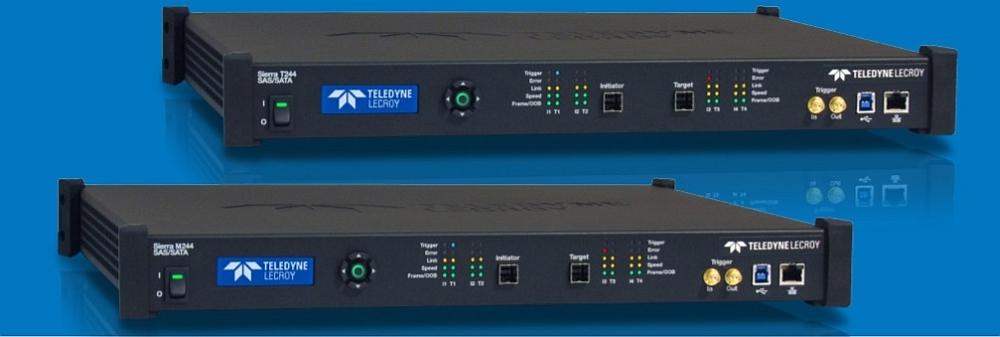 Teledyne Lecroy's Sierra M244 SAS protocol analyzer