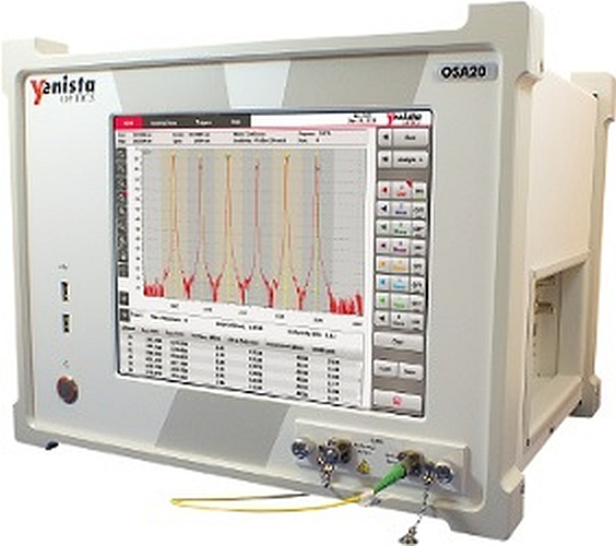 OSA20 optical spectrum analyzer of Yenista Optics