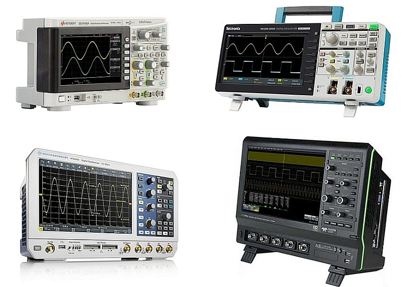 New oscilloscopes products announcements in 2016-2017