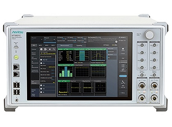 Anritsu's MT8821C communications tester