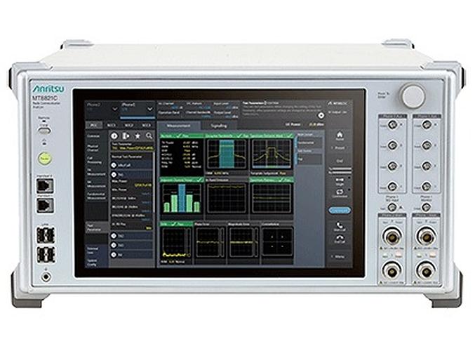 Anritsu's MT8821C communications tester