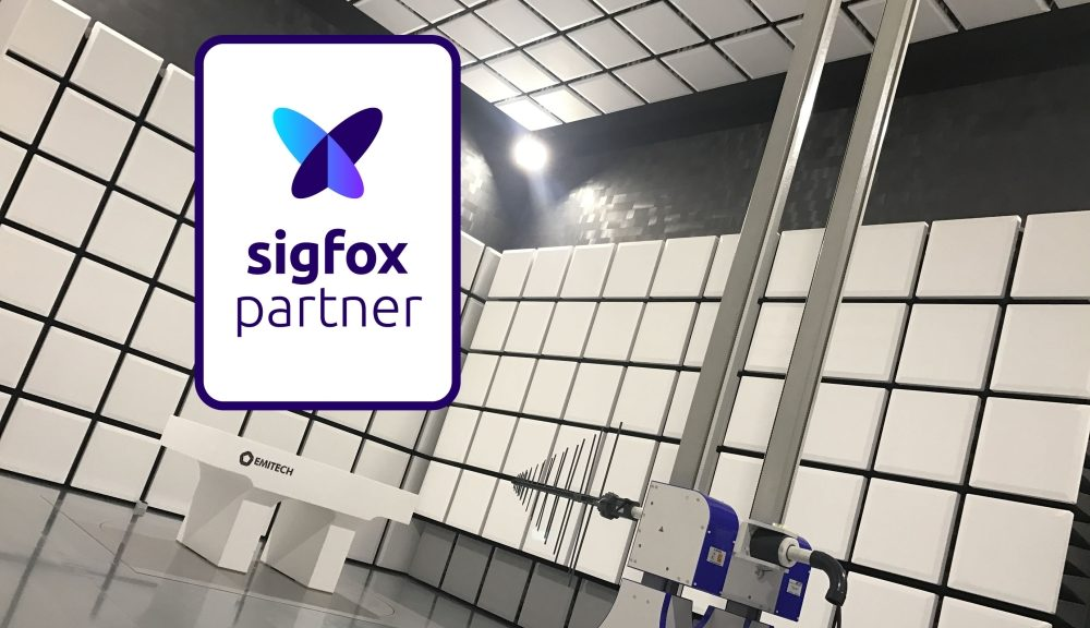 Emitech French laboratory is labeled as Sigfox Partner