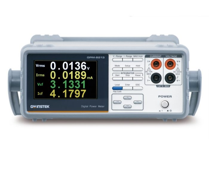 GW Instek's GPM-8213 wattmeter for single-phase AC power measurements