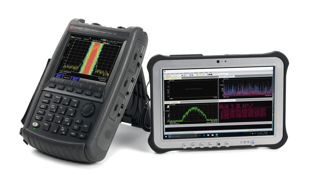 Keysight's FieldFox handheld RF and microwave analyzer