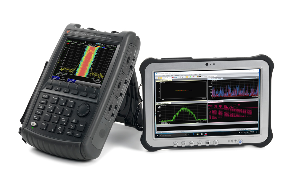 Keysight's FieldFox handheld RF and microwave analyzer