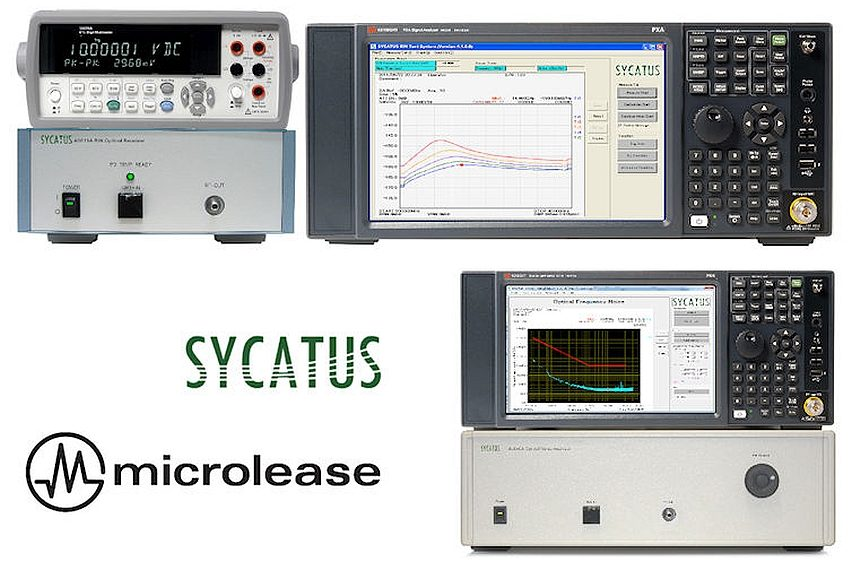 Microlease added Sycatus's optical test systems to its distribution portfolio.