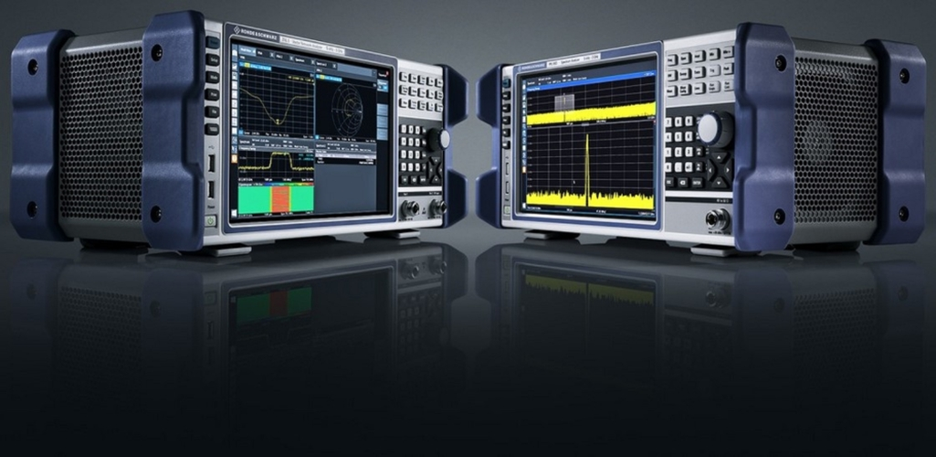 R & S ZNL Network analyzer and R & S FPL1000 spectrum analyzer of Rohde & Schwarz
