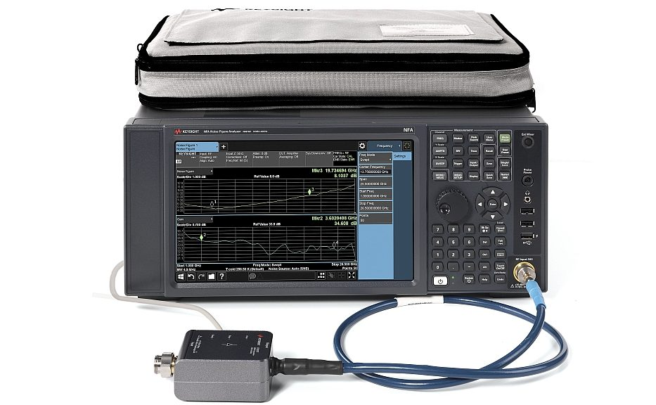 Keysight's noise figure analyzer (NFA)