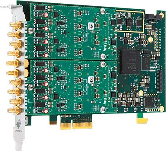 16-bit PCIe M2p 59xx digitizers from Spectrum