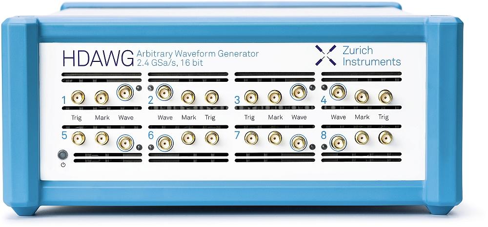 HDAWG arbitrary waveform generator of Zurich Instruments