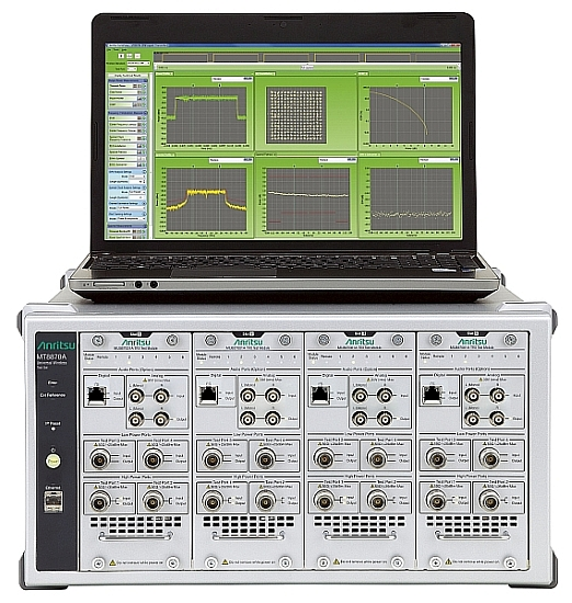 Anritsu's MT8870A Universal Wireless Communication Tester