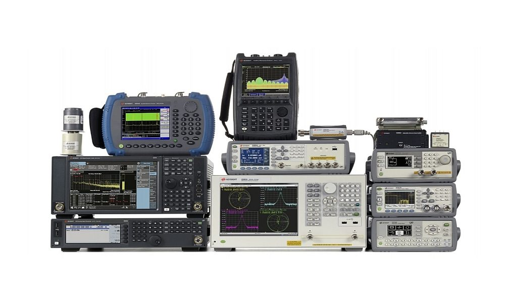 RF instruments of Keysight available trough a selection of distribution partners