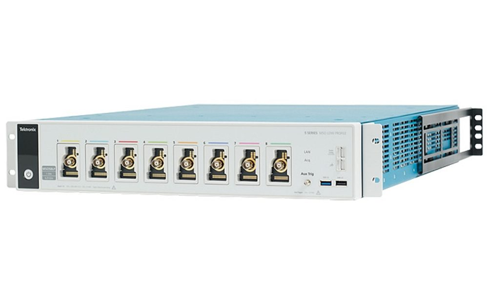 Tektronix MSO 5 Series rackmount oscilloscope without HMI