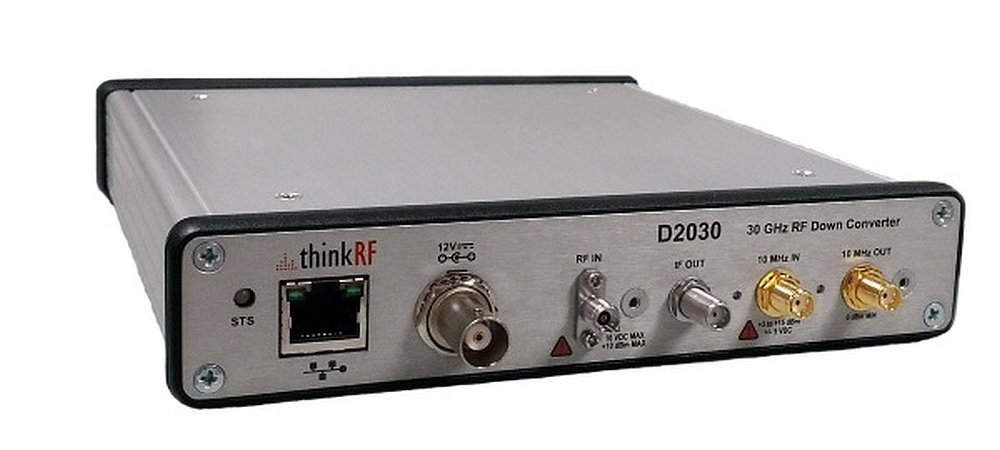 Downconverter ThinkRF D2030 for 5G signal spectrum
