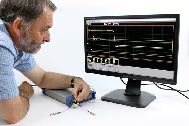 PicoScope 9300 Sampling Oscilloscope range