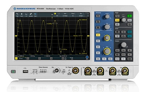 R&S RTA4000 oscilloscope from Rohde&Schwarz