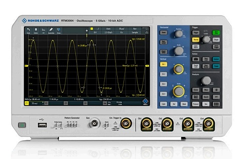 R&S RTM3000 oscilloscope from Rohde&Schwarz