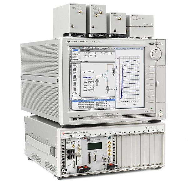 Keysight A-LFNA paired with the Keysight B1500 Semiconductor Device Analyzer