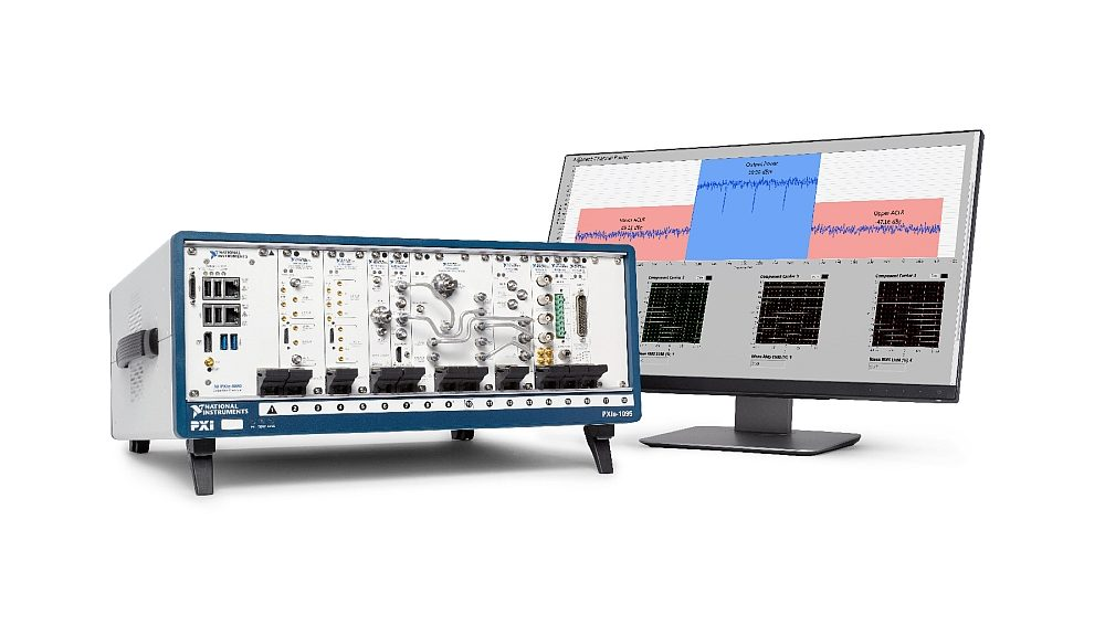 3GPP 5G NR compliant RF test solution from National Instruments