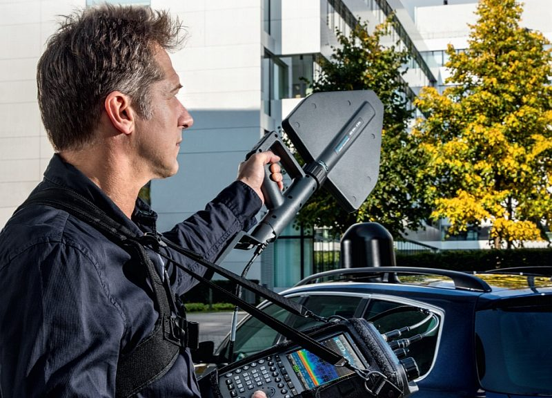 R&S MNT100  handheld RF interference locator from Rohde & Schwarz