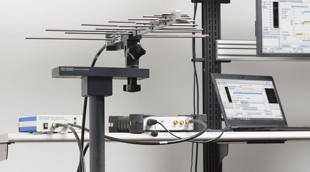 EMCVu software for EMC testing with Tektronix RSA306B spectrum analyzer