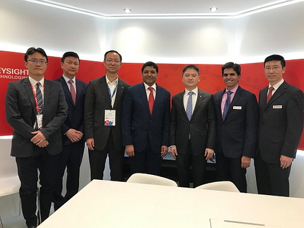 Executives from Keysight Technologies, Unigroup Spreadtrum & RDA sign Memorandum of Understanding at Mobile World Congress 2018