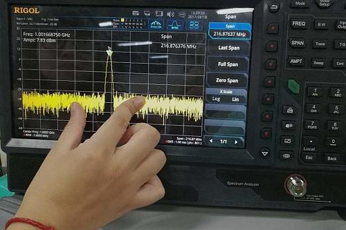 Rigol RSA5000 spectrum analyzer with 10.1″ multi-touch display